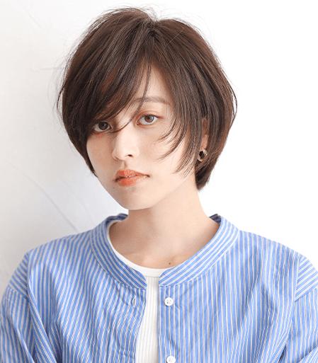 ショートのスタイルのヘアカタログ・ヘアスタイル・髪型のイメージ・テイスト画像